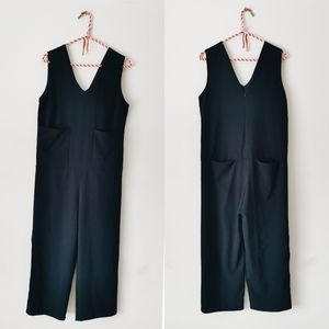 Oak + Fort Dark Blue Jumpsuit